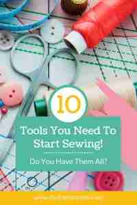 Sewing Tools List for Beginners