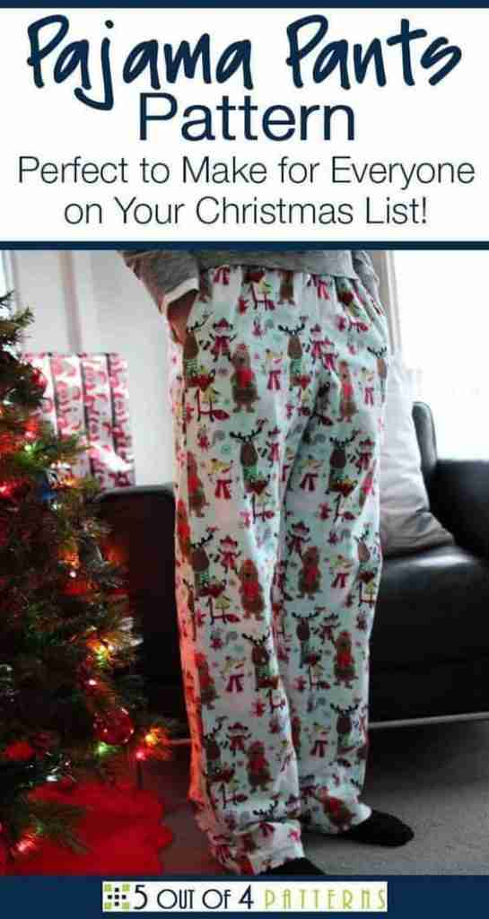 Free Pajama Pant Pattern for Beginners