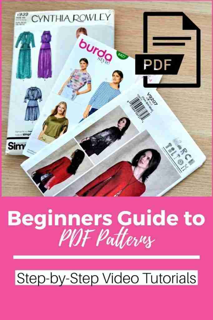 How to use PDF Patterns for Beginners