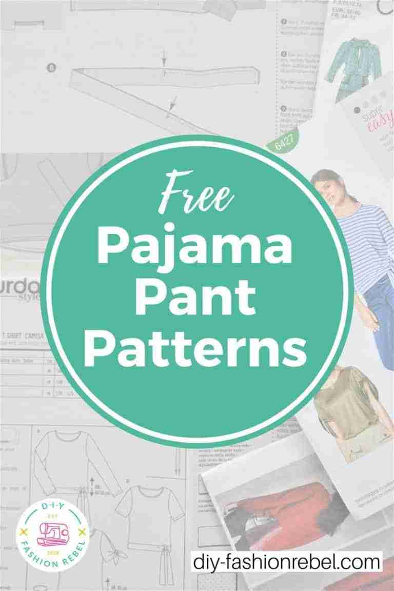 Free Pajama Pant Patterns