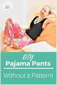 Pajama Pants and Shorts without a Pattern