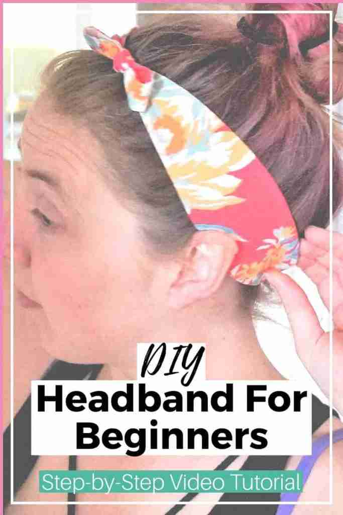 DIY Headband - Beginner Sewing Project
