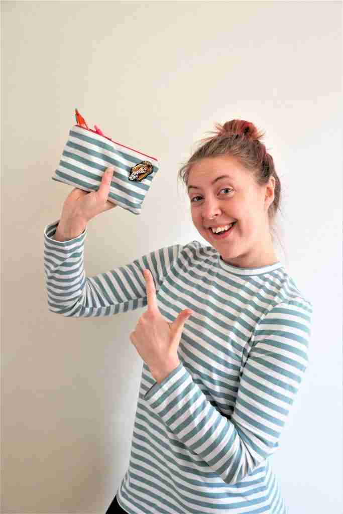 Zippered Pouch - How To Sew A Zipper