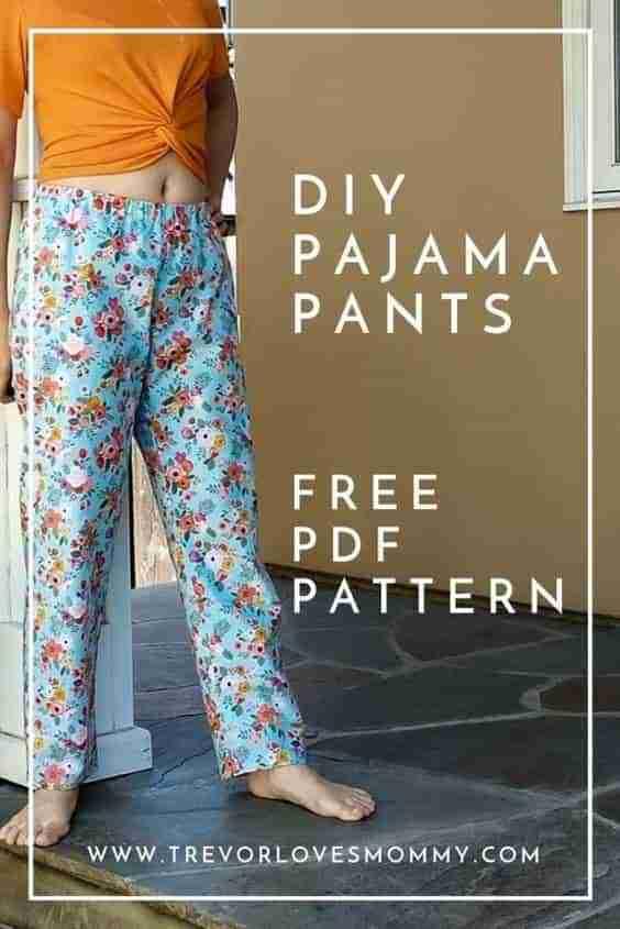 Free Pajama Pant Pattern for Women