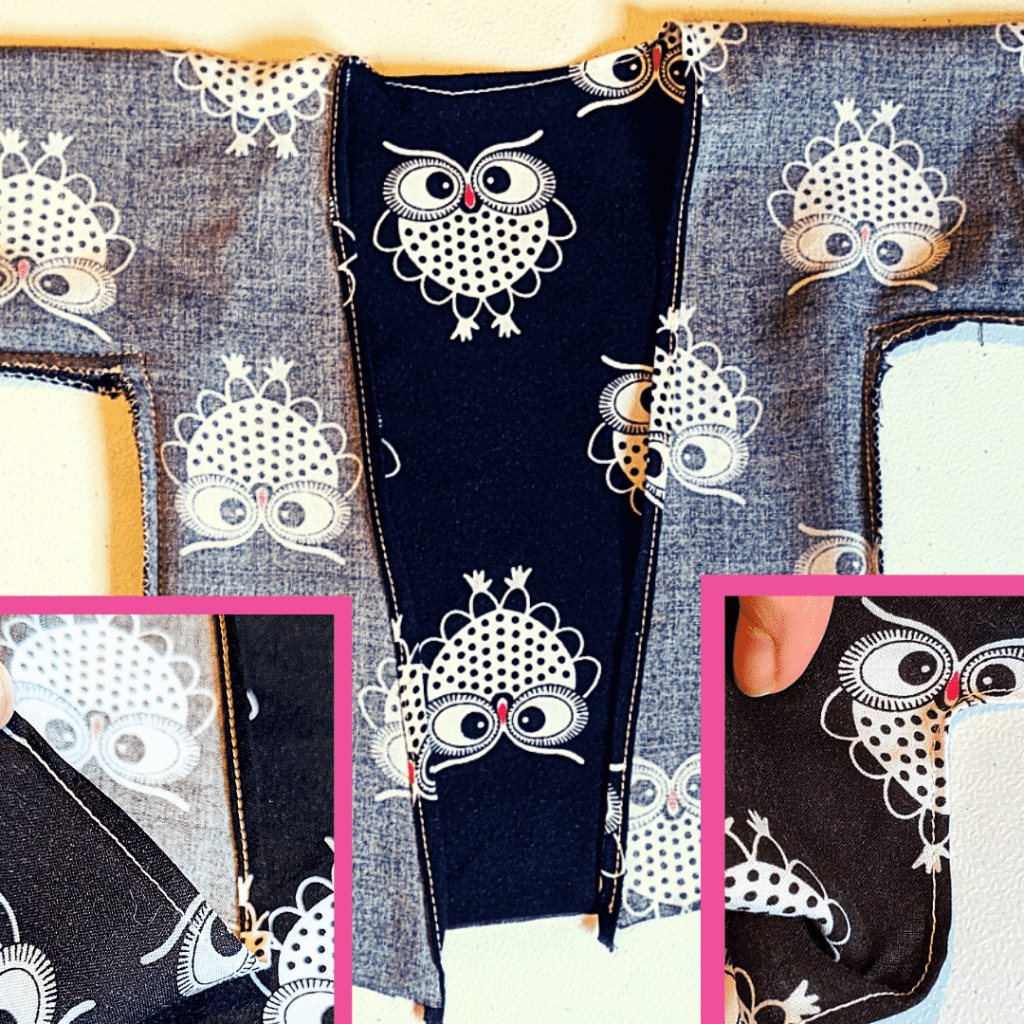 Sew the Kimono Robe Neckline