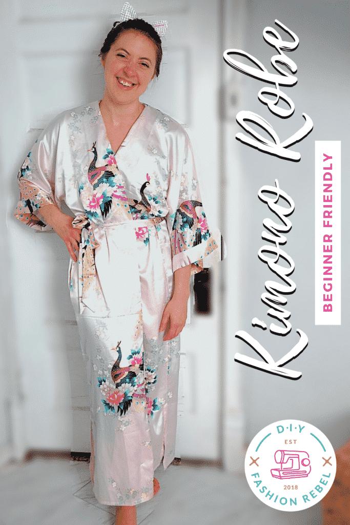 How To Make a Kimono Robe for Beginners